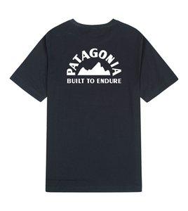 باتاجونيا مصمم القمصان 100٪٪ أزياء رجالي القمصان للرجل المرأة S-3XL الحجم يتأهل تنفس الرجال قمم