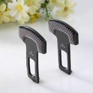 Acessórios do carro 2pcs cinto de segurança clipe extensão auto segurança extender fecho fivelas plug interior