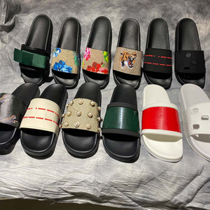 Высококачественные стильные тапочки Tigers мода классики слайды сандалии мужчины женщин обувь Tiger Cat дизайн лета Huaraches Home011 2