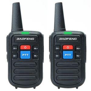 Walkie Talkie Baofeng BF-C50 Mini Kids Portable Ham Radio Comunicador UHF Dual PHandy Two Way HF Transceiver