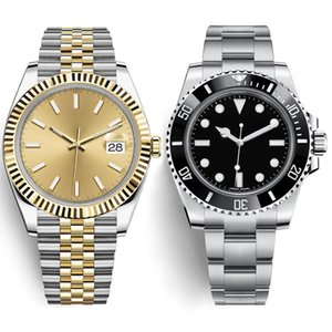 Gli uomini guardano 41 millimetri orologi zaffiro di alta qualità meccaniche automatiche degli uomini delle aziende luminosa orologio subacqueo impermeabile acciaio inossidabile 316L
