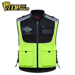 HEROBIKER Motorcycle Jacket Vest Safety Body Safe Protective Traffic Facilities Running Riding Reflective Clothing