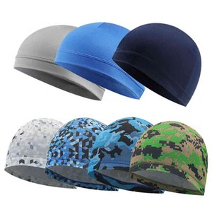 Summer Helm Liner Cap Breathing Fast Sport Beanie Men Women Running Riding Bandana Headscarf Hat Headband