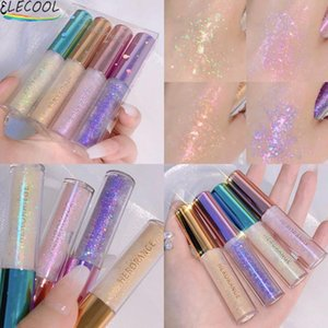 Eye Shadow ELECOOL Diamond Beauty Cosmetics Makeup Pigment Set Kit Metal Shimmer Glitter Single Liquid Eyeshadow Accessorices