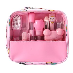 13pcs Set Newborn Baby Kids Nail Clippers Health Care Thermometer Grooming Brush Kit Amazon Supplier