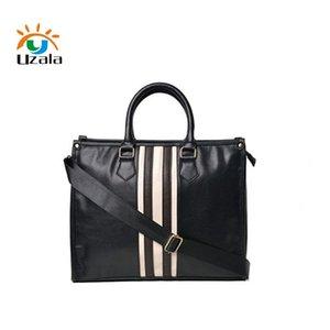 Original Korean version of the British business vintage men's bag casual shoulder bag briefcase -198 LJ201012