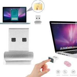 Gadgets 1Pc USB Fingerprint Reader For Windows Security Key Biometric Scanner Sensor Module Instant Touch Easy To Use