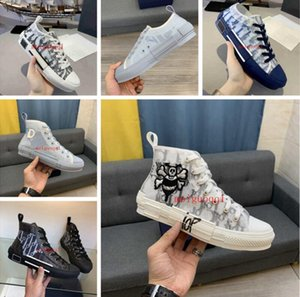 2021 casual shoes high quality 23 diagonal high-low-top technology sneakers women's fashion double designer shoe's men's outdoor leather platform shoes&# 35-47