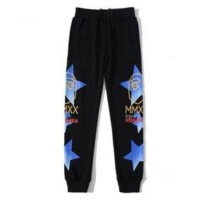 Осень зима мужская пустыня черная камуфляжная камуфляжная спортивная одежда брюки любовника спортивные хип-хоп брюки брюки