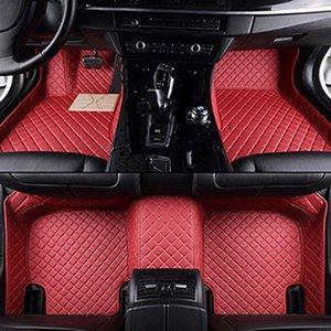 leather car floor mats for Alfa Romeo Giulia foot Pads automobile accessories dg fb yuefergasd gbnfgd