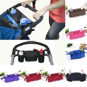Baby Stroller Organizer Baby Prams Carriage Bottle Cup Holder Bag for Pram By Baby Stroller Accessories Wheelchair Bag 871X2