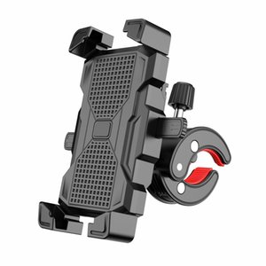 New automatic lock riding holders mobile phone bracket bicycle motorcycle electric car