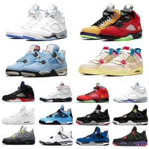 what the5 union 4 mens basketball shoes University Blue Stealth 2.0 cactus jack white cement bred trainers men sports sneakers