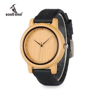 Bobo Bird Women Watches Luxo Luxo Luxo Timepieces TimeSpieces Silicone Correias Relojes Mujer Marca de Lujo Grandes presentes para meninas 210325