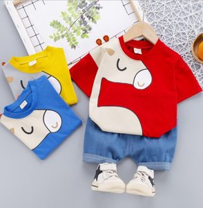 Baby Boy Clothing Set Cute Pony Summer T-Shirt Children Boys Shorts Suit for Kids Outfit Denim Outfit 1 2 3 4 Years