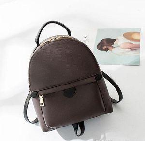 Hight Quality Женская Palm Bag Springs Дизайнер Мини PU Кожаные Дети Рюкзаки Женщины Печать рюкзака M41562