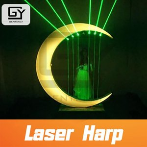 Room Escape Prop Playing Laser Harp Touch The Beam With Right Rhythm sequence To From Musical Notes Alarm Systems