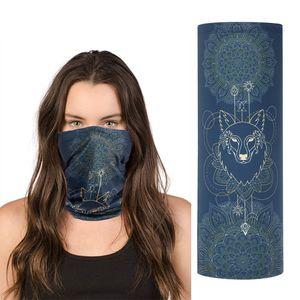 Ice silk scarf sunscreen mask riding magic scarf multifunctional outdoor sports collar