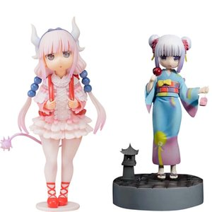 Anime Kobayashi-San No doncella Dragón Kanna Kamui Canna PVC figura de acción juguete sexy niña figura adulto coleccionable modelo muñeca regalos r0327