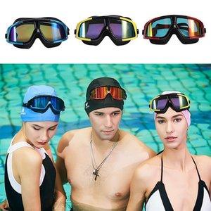الكهربائي المضادة للأشعة فوق البنفسجية مكافحة الضباب نظارات السباحة الغوص قابل للتعديل نظارات السباحة السيدات الرجال حملق