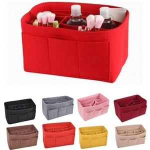 Felt Handbag Insert Organiser Women Sundries Storage Casual Bag Liner Purse Bags Organizer Travel S0T1