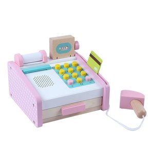 Children's Simulation Supermarket Cash Register Pretend Play House Pay Money Parent-child Toy Gifts Kids Toys For Girls