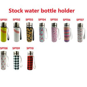 10 Colors Neoprene Drinkware Water Bottle Holder Insulated Sleeve Bag Case Pouch Cup Cover for 500ml CYZ3078
