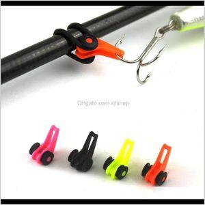 Boat Rods Multiple Color Plastic Rod Pole Hook Keeper Lure Spoon Bait Treble Holder Small Fishing Accessories Is0301 O8Zal Ijaa7