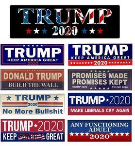"""2020 ABD Cumhurbaşkanlığı Seçim 9 * 3 """"Trump Tampon Araba Çıkartmaları Araba Tampon Çıkartmaları Ile Donald Trump Başkanı Çıkartmalar"""