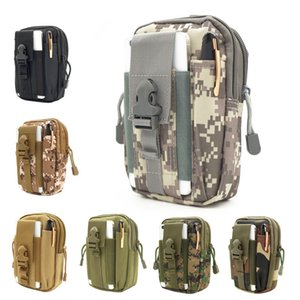 Waist Bag Tactical Waterproof Travel Bags Belt Phone Pouch Army SWAT Camouflage Worker Accessories Waist Packs 438 X2