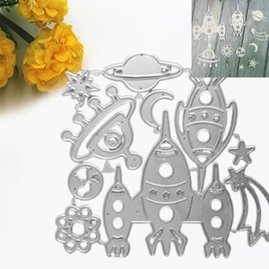 Painting Supplies Planet Moon Metal Cutting Dies Stencil DIY Scrapbooking Paper Card Template Mold Embossing Decoration