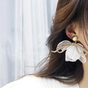 Tasarım Güzel Damızlık Çiçekler Küpe Kadınlar Için Üst Tasarımcı Yaratıcılık Lüks Yüksek Kalite Takı S925 İğne Parti Hediye