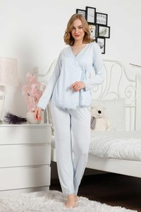Women's Sleepwear Fashion Quality Women Pajamas Suit 3 Pieces Night Gown Comfortable Sleep Life Dressing Nightgown Pajama