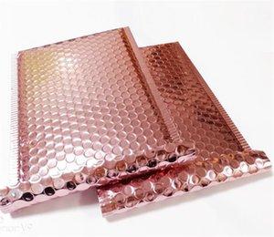 Rose Gold Bubble Contured Metallic Rose Gold Foil Bubble Mailer для упаковки подарков, Свадьба BAG 1315 V2