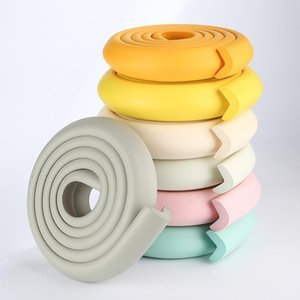 Corner&Edge Cushions 2m Baby Bumper Strip Safety Corner Protector Glass Table Edge Guards Cushion With Sticker YYT238