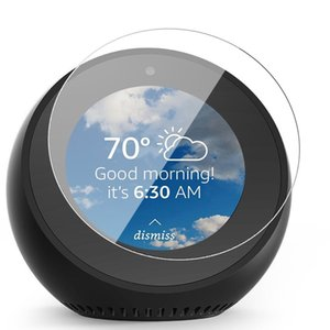 Echo Spot LED Transparent Screen Protector Fast Free Ship High quality 2pcs set contain cleaning package