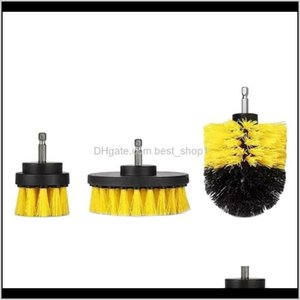 Household Tools Housekeeping Organization Home & Garden Drop Delivery 2021 Power Scrubber Drill Brush Cleaner Spin Bathroom Tub Shower Tile G