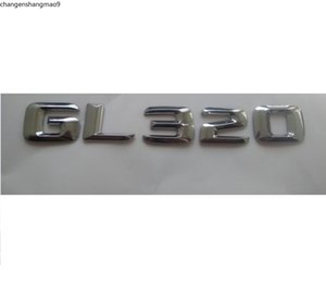 Chrome 3D ABS Plastic Car Trunk Rear Letters Words Badge Emblem Decal Sticker for Mercedes Benz GL Class GL320