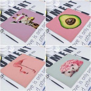 Table Napkin Flamingo Linen Napkins Tea Towel 42*32Cm Serving Dining Fabric Wedding Towels For Decoration Servilletas De Tela