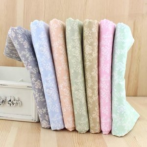 50*150cm Rose Twill 100% Cotton Fabric Meters For Patchwork Quilting Crib Bumper Cloth Bed Sheet Pillows Sewing Tissue D30