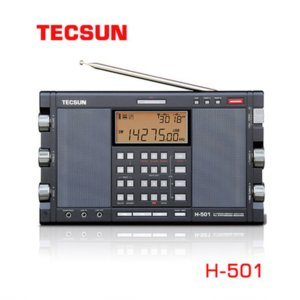 Tecsun H-501 Portable Stereo Full Band FM SSB Radio Receiver Dual-horn Speaker with Music Player Easy to Operate