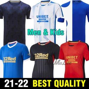 2021 Rangers training Soccer Jerseys Glasgow 2022 150th Anniversary years DEFOE HAGI BARKER MORELOS 21 22 Football Shirt