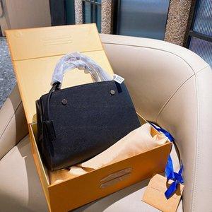 2021 New Montaigne Classic Mode-Stil, Temperament, elegantes Ledermaterial, Damen Handtasche, Bankettsack, Größe 30 * 22