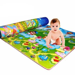 game baby play mat Large Infant Playmat Children Carpet Activity Mats For Kids Games 210402