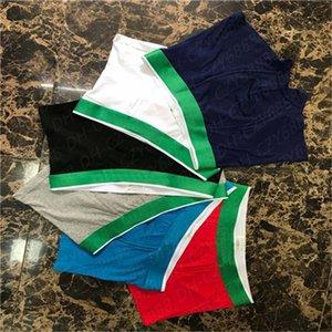 High-Quality Fish Pattern Design Boxer Men Cotton Underwear Short For Men Brand Sexy Underwear Casual Short Man Gay Underwearclothes Shorts