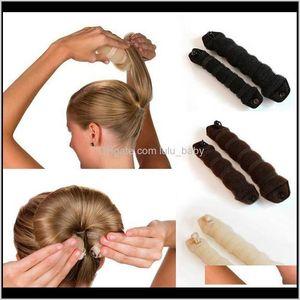 1 Set Femmes Magic Mousse Sponge Styling Hairdisk Donut Rapide Messy Updo Accessoires HS11 WQP42 Maker VQLXJ