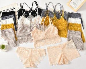 See Through Women Underwears Sexy Lace Briefs Low Waist 6Colors Panties Femme Solid Panties Free Size Ladies Underwear Boxer shortsBriefs Set