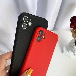 TPU Soft Phone Cases multi color Matte back cover silicone for Apple iPhone 12 11 Pro MAX XS XR 7 8 plus