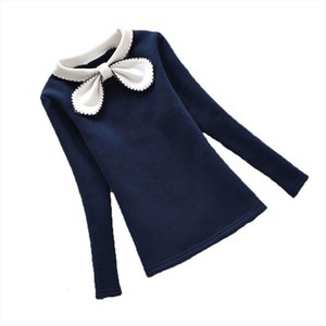 Flower Girls Blouse Fashion Spring Lace Children Shirts Tops Cotton Long Sleeve Kids Girl School Blusas Clothes 3 12y