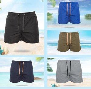 Casual Male Board Shorts Seaside Swim Clothes Summer Beach Quick Dry Swimming Trunks Mens Designer Swimwear
